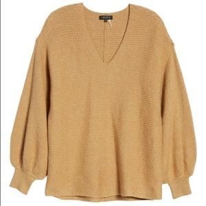 Nordstrom 1. State Sweater Bubble Sleeves